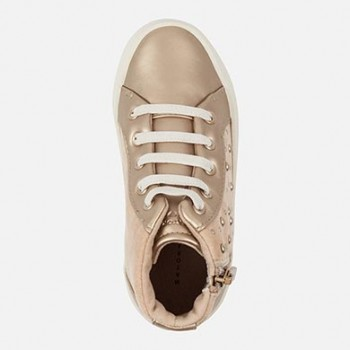 MAYORAL Girl trainers with platform and rivets, copper 46757-48